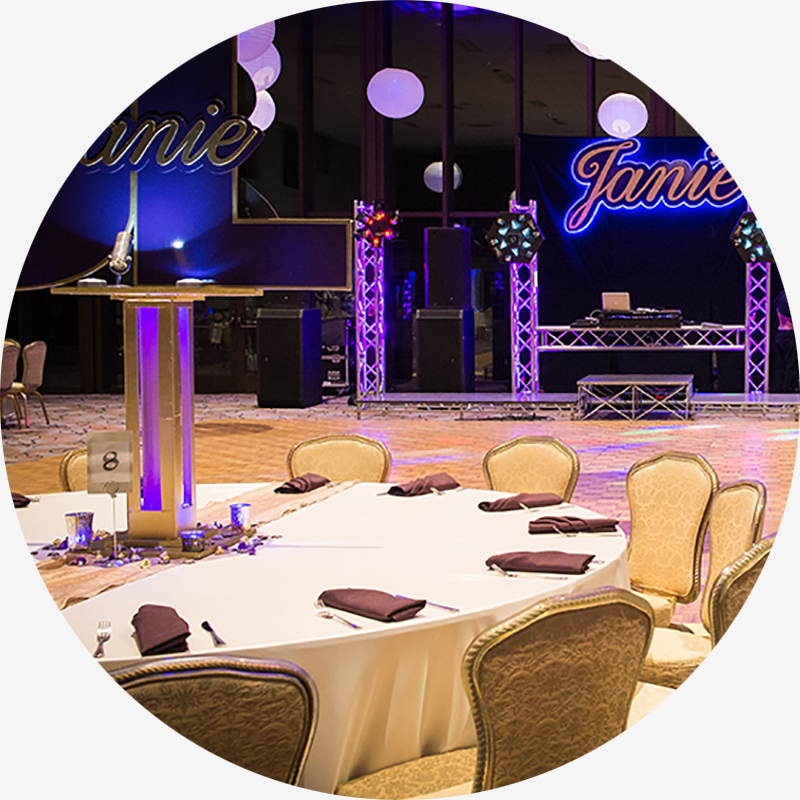 Facility Rentals, Dinners & Parties