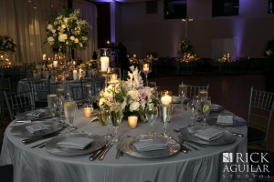 Wedding Reception Set Up in the Blumberg Auditorium
